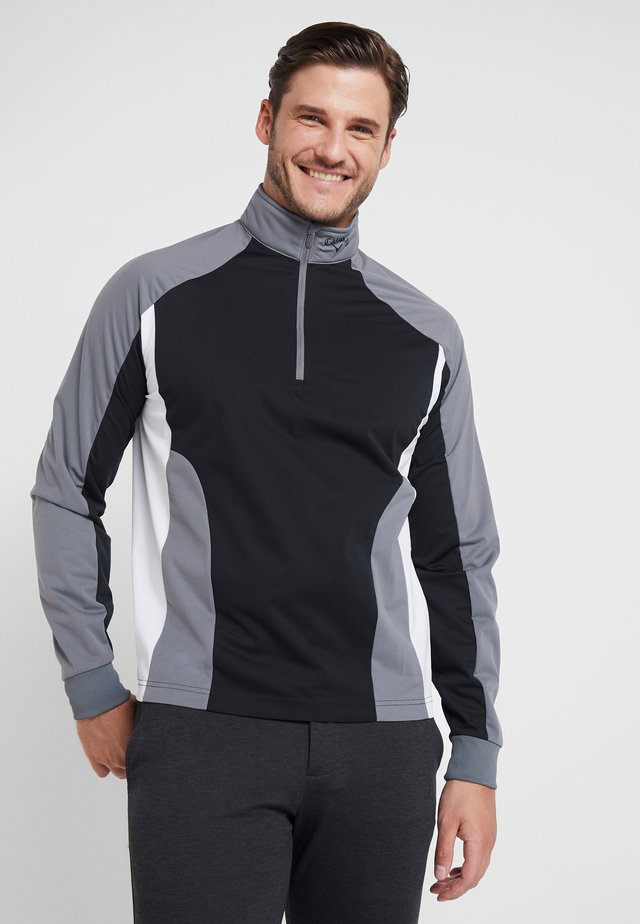 BLOCKED TECHNICAL BASE LAYER - Camiseta de deporte - caviar