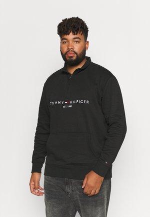 LOGO MOCKNECK - Sweatshirt - black