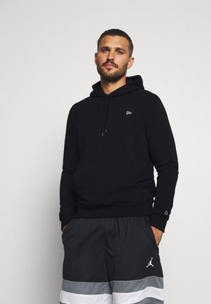 NEW ERA ESSENTIAL FLAG HOODY - Sweat à capuche - black