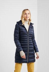 Save the duck - IRIS - Winter coat - blue black - 0