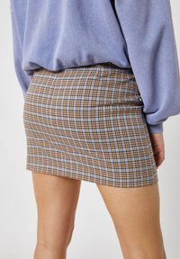 PULL&BEAR - A-line skirt - brown - 4