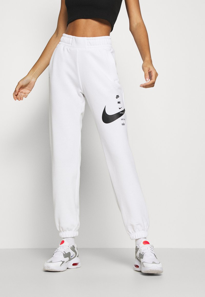 Nike Sportswear - PANT - Tracksuit bottoms - white/black