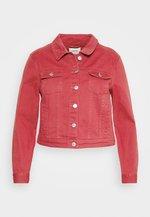 WESTERN JACKET - Džínová bunda - baked pink
