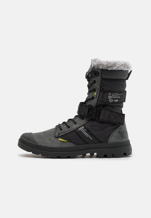DESTINY BOOT HIGH - Botas con cordones - black/raven