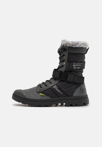 DESTINY BOOT HIGH - Lace-up boots - black/raven