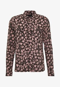 AllSaints - HEARTBREAK - Camicia - black/granite pink - 5
