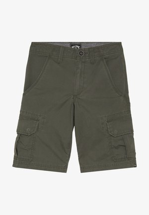 SCHEME BOY - Pantalones cargo - military
