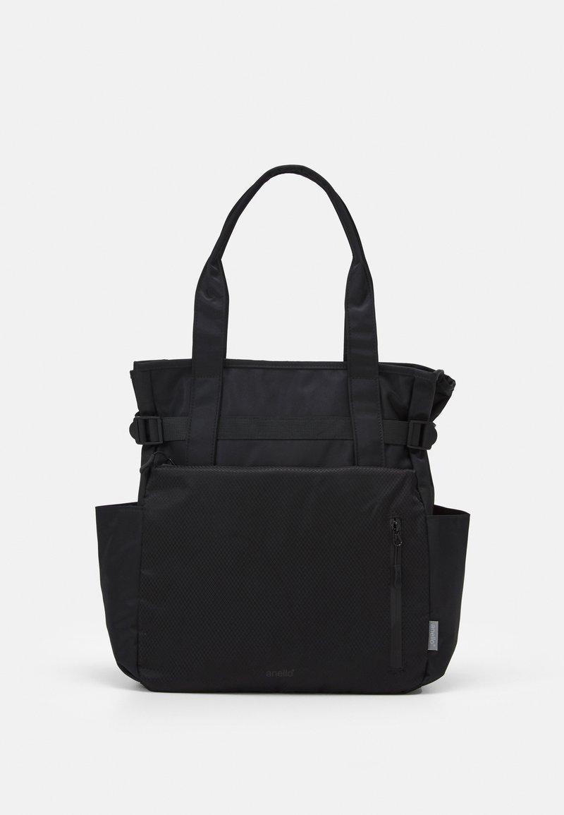 anello - ODDESSY TOTE BAG UNISEX - Tote bag - black