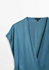 Massimo Dutti - Day dress - blue - 5