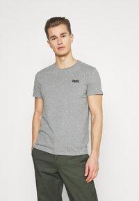Superdry - VINTAGE TEE - Basic T-shirt - grey marl - 0
