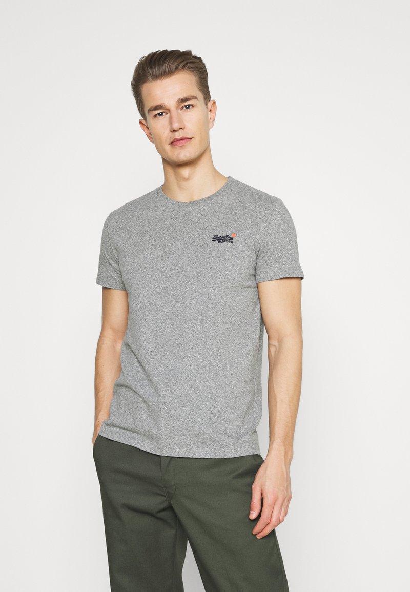 Superdry - VINTAGE TEE - Basic T-shirt - grey marl
