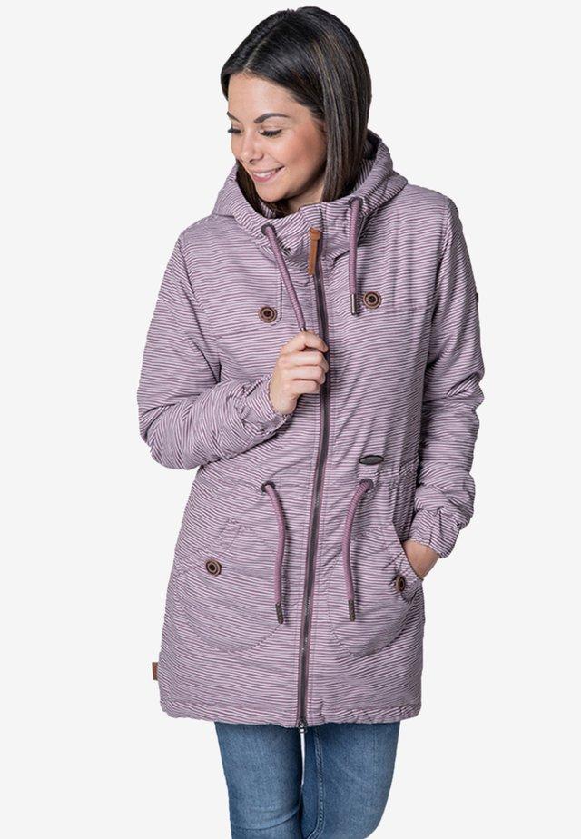 CHARLOTTE  - Winter coat - mauve