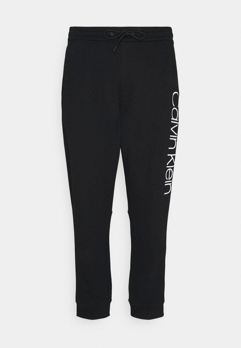 Calvin Klein - LOGO - Pantaloni sportivi - black