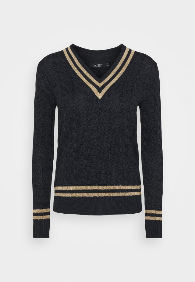 Jumper - navy/gold