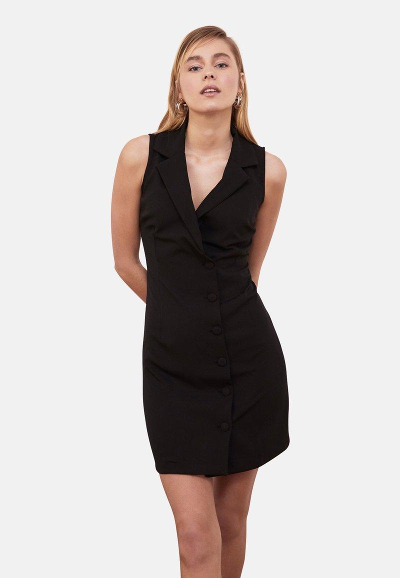 Trendyol - Shirt dress - black