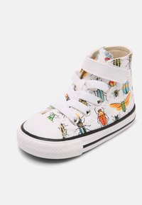 Converse - CHUCK TAYLOR ALL STAR BUGGED OUT HI UNISEX - Sneakers hoog - white/natural ivory/black - 6