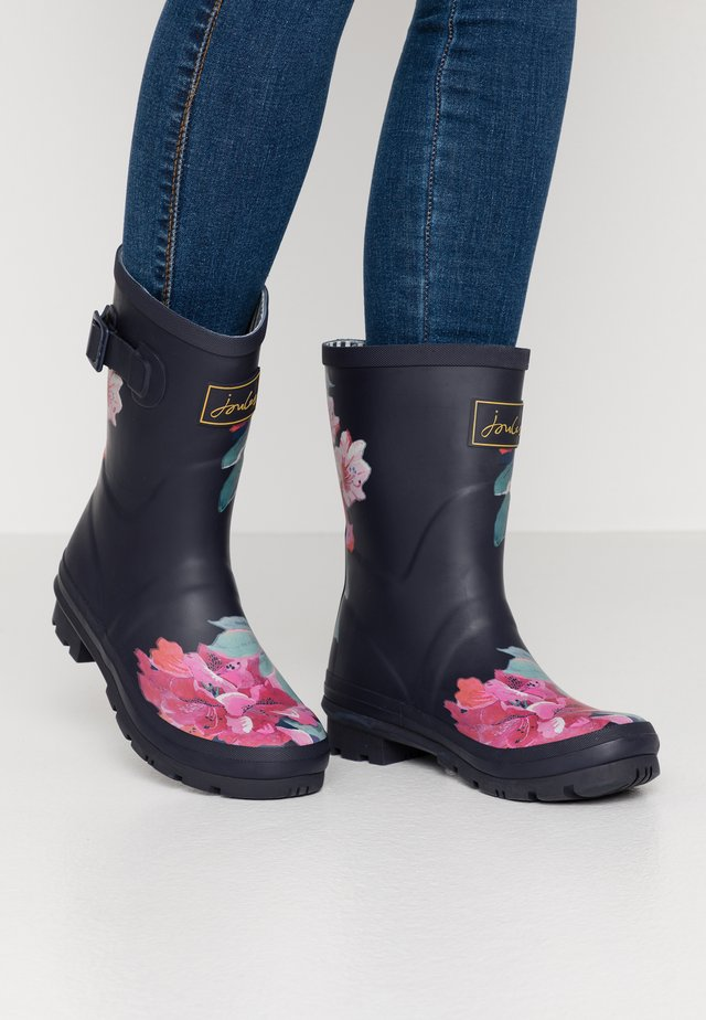 MOLLY WELLY - Bottes en caoutchouc - navy