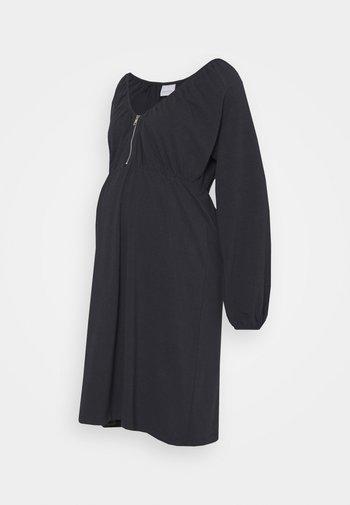 NURSING DRESS - Jerseyjurk - dark navy
