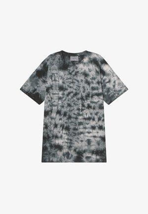 NJORD TEE - Print T-shirt - jet black