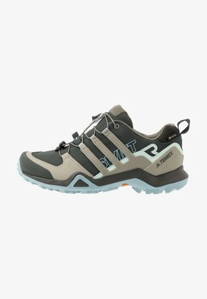 TERREX SWIFT R2 GORE-TEX - Hiking shoes - legend earth/fear grey/ash grey