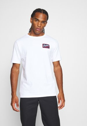 CAMPTI TEE - T-shirt con stampa - white