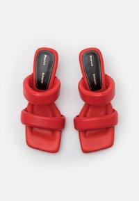 Proenza Schouler - CECIL - Pantofle na podpatku - red - 4