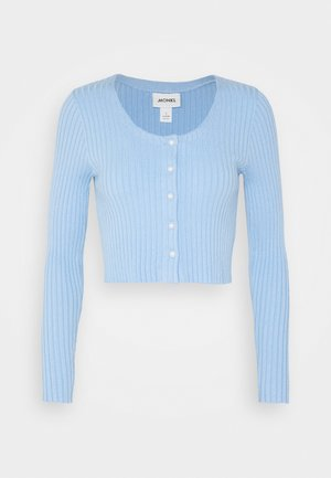 ALIANA CARDIGAN - Neuletakki - blue light
