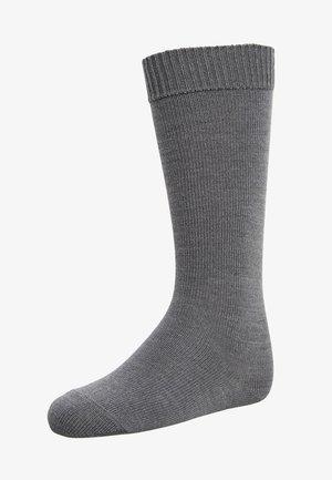 COMFORT - Podkolenky - dark grey melange