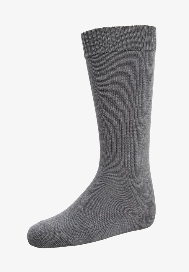 COMFORT - Chaussettes hautes - dark grey melange