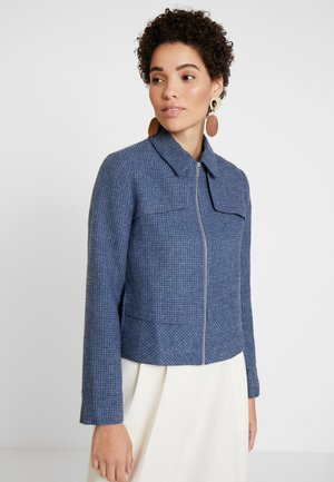 PANELLED JACKET - Chaqueta fina - navy