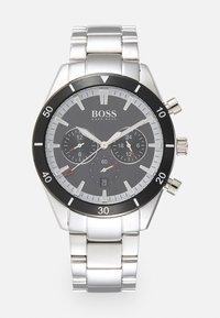 BOSS - SANTIAGO - Watch - silver-coloured/black - 0