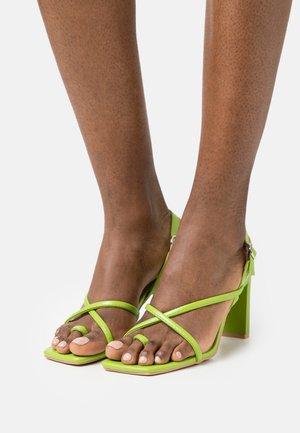 MONA - Sandalias de dedo - green