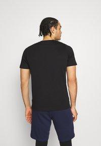 Puma - ESS SMALL LOGO TEE - Basic T-shirt - puma black cat - 2