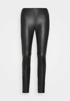 ARLEEN TROUSERS - Leggings - black