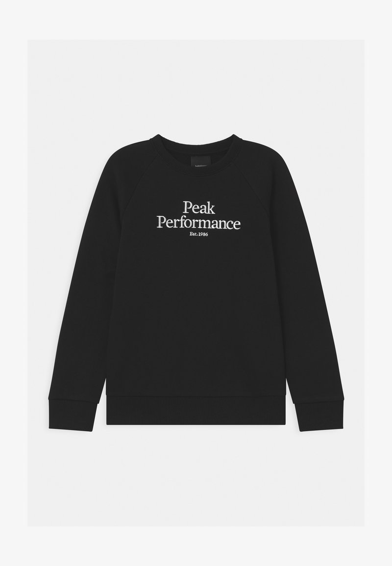 Peak Performance - ORIGINAL CREW UNISEX - Mikina - black