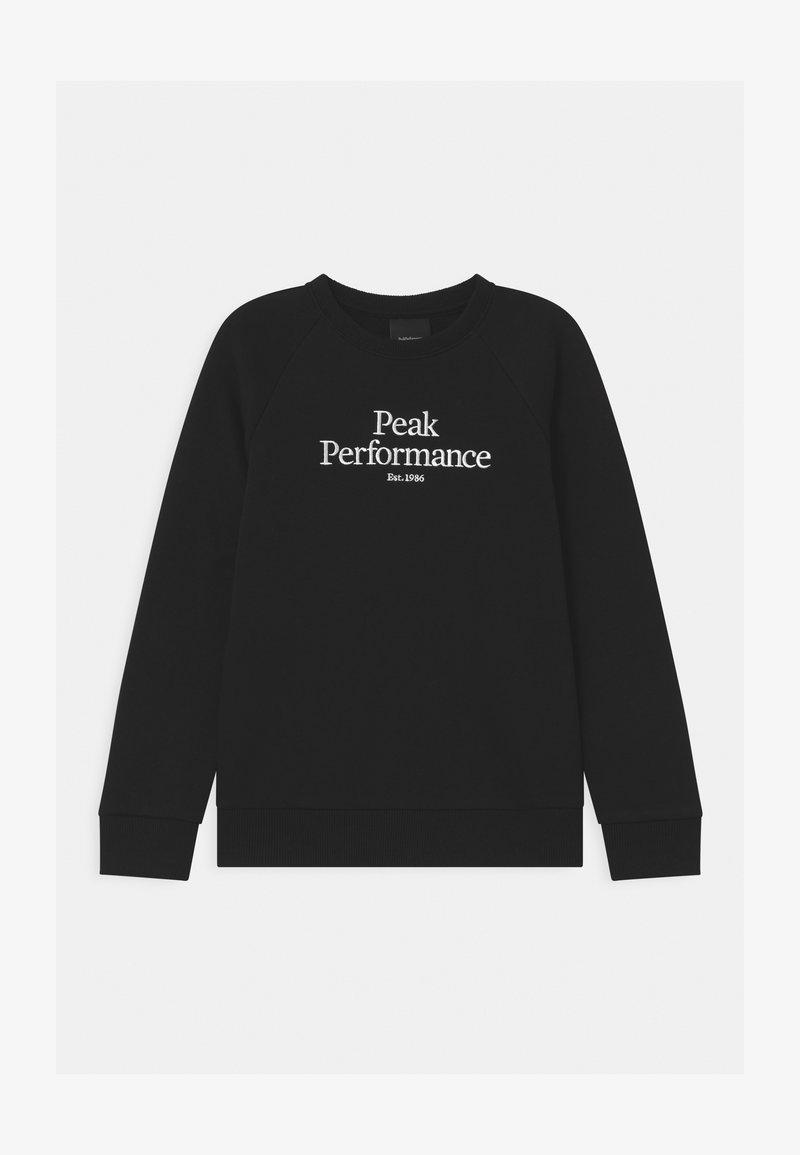 Peak Performance - ORIGINAL CREW UNISEX - Sweatshirt - black