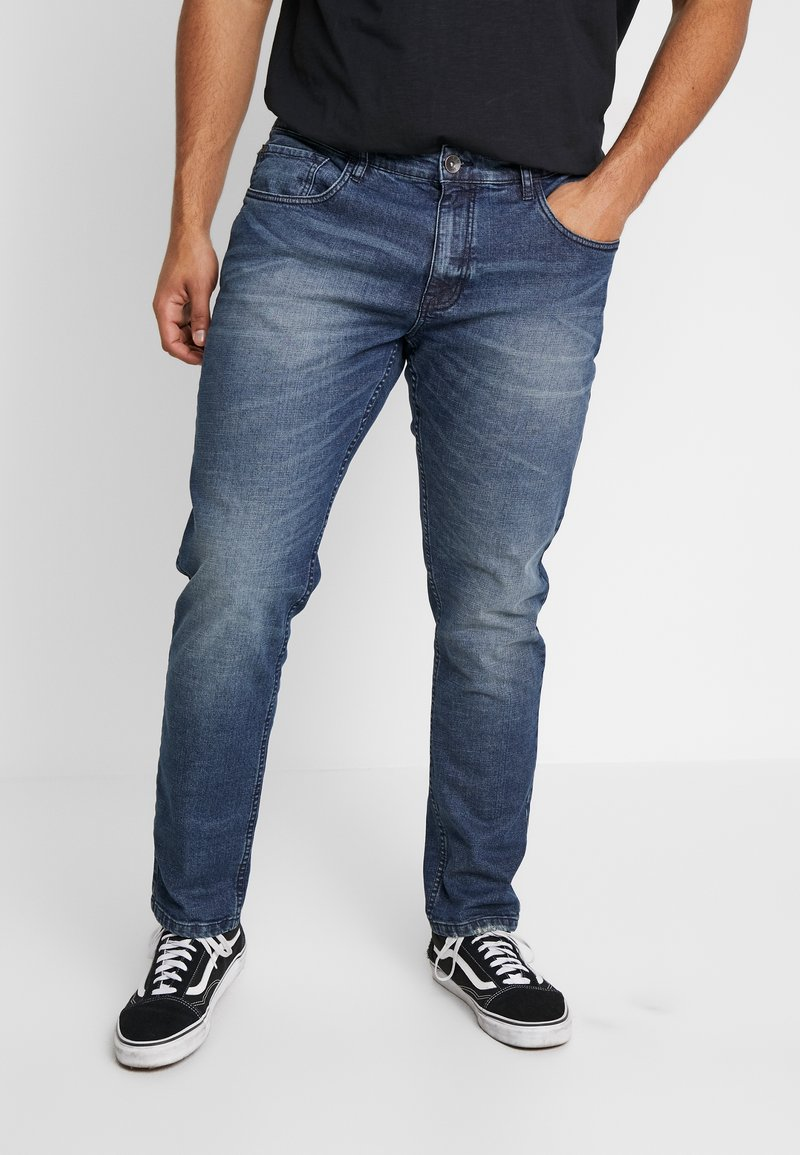URBN SAINT - USBERLIN - Jeans slim fit - atlantic blue
