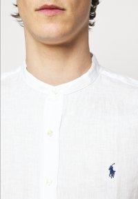 Polo Ralph Lauren - PIECE DYE - Shirt - white - 4