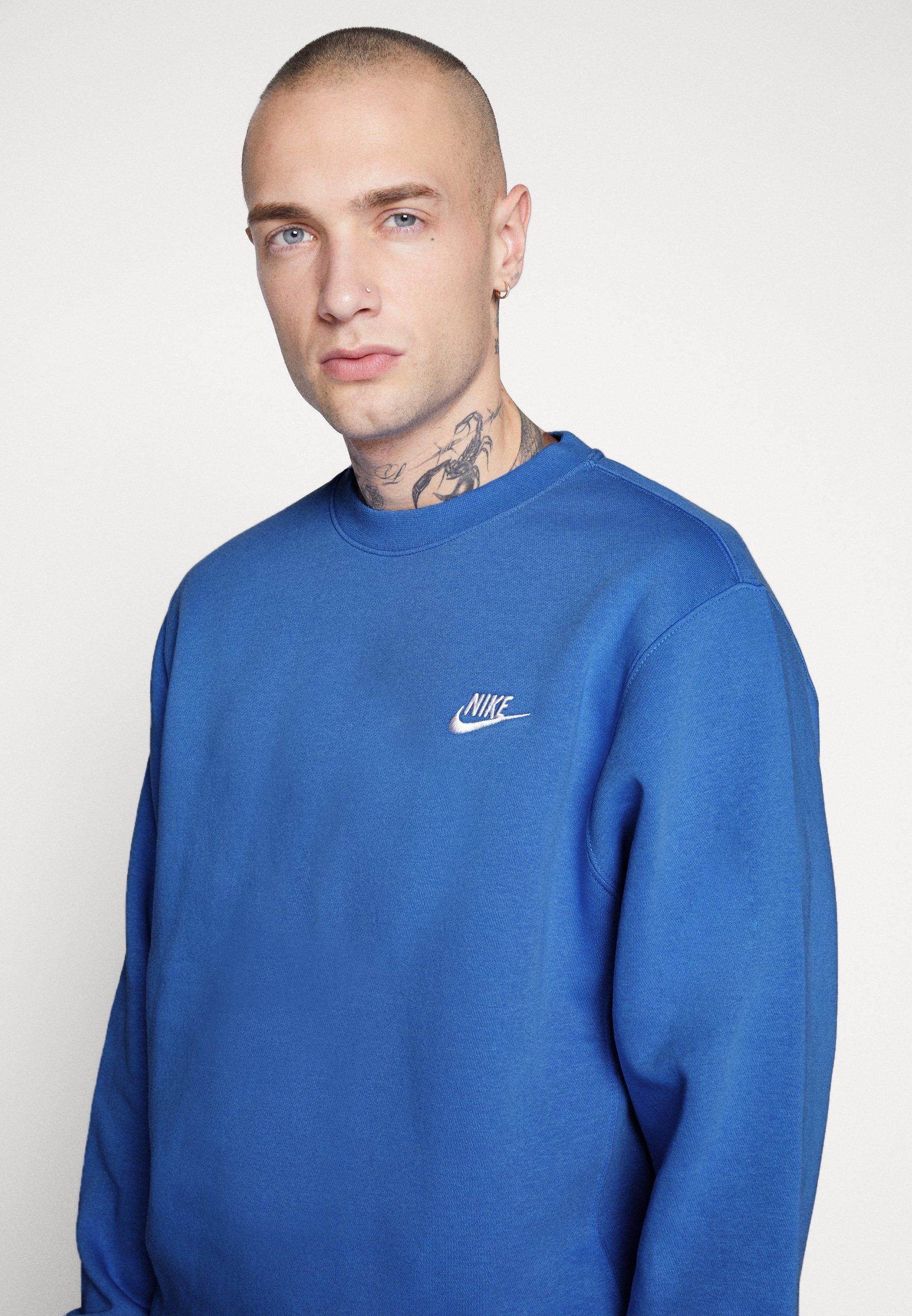 Nike Sportswear CLUB Sweatshirt pacific bluewhite