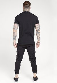 SIKSILK - PANTS - Cargobroek - black - 2