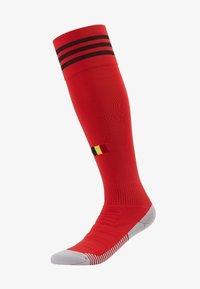 adidas Performance - BELGIUM RBFA HOME SOCKS - Sports socks - red - 1