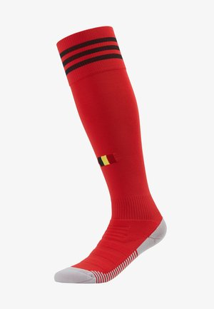 BELGIUM RBFA HOME SOCKS - Sports socks - red