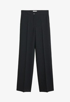 SIMON-I - Trousers - zwart