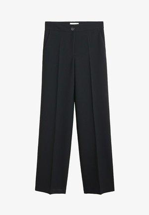 SIMON-I - Spodnie materiałowe - zwart