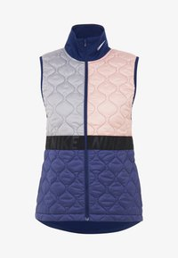 Waistcoat - bleached coral/blue void