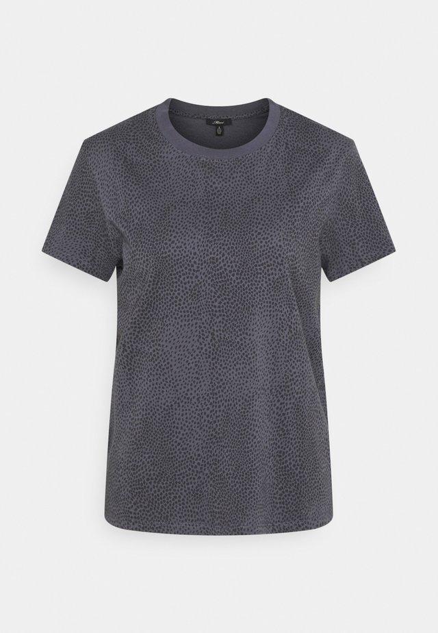 T-shirt print - asphalt