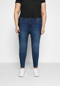 Noisy May Curve - NMAGNES - Jeans Skinny Fit - medium blue denim - 0