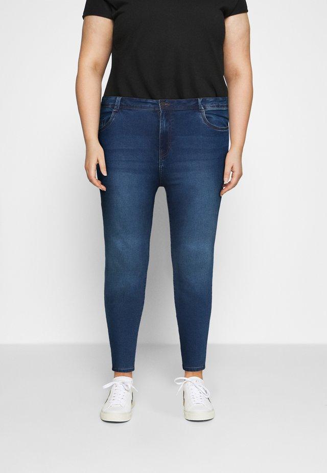 NMAGNES - Jeans Skinny - medium blue denim