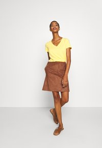 Esprit - A-line skirt - brown - 1