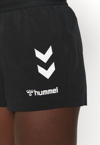 Hummel - PRO GAME SHORTS WOMAN - Sports shorts - caviar/marshmallow - 5